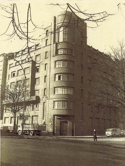 88e7ea868a7a Antigua sede de la fábrica de joyería y orfebrería Hijos de Alfredo Álvarez.  Situada en la actual Sabino Arana nº 1. Hoy desaparecida.